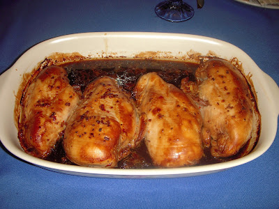 Margaret's Morsels | Marinated Baked Chicken