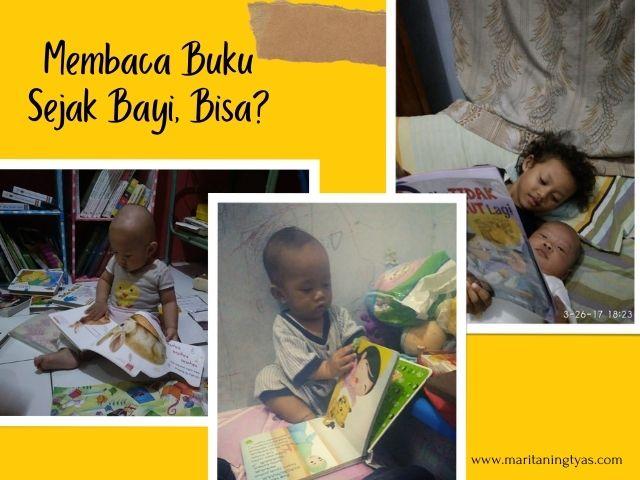 bisakan membaca buku sejak bayi?