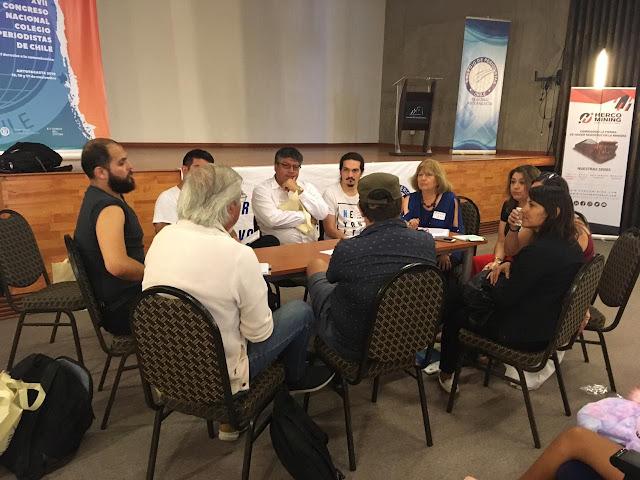 Mesas temáticas debaten en Congreso de Periodistas
