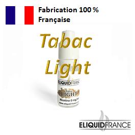 E-Liquide Tabac Light ELIQUID FRANCE 100 % Français sur Top Cigarette Electronique