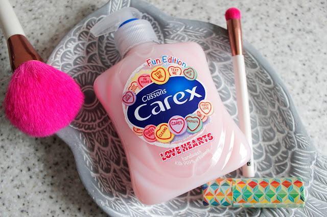 Fun Edition Love Hearts Carex Soap | Good Enough To Eat | Tea And Beauty