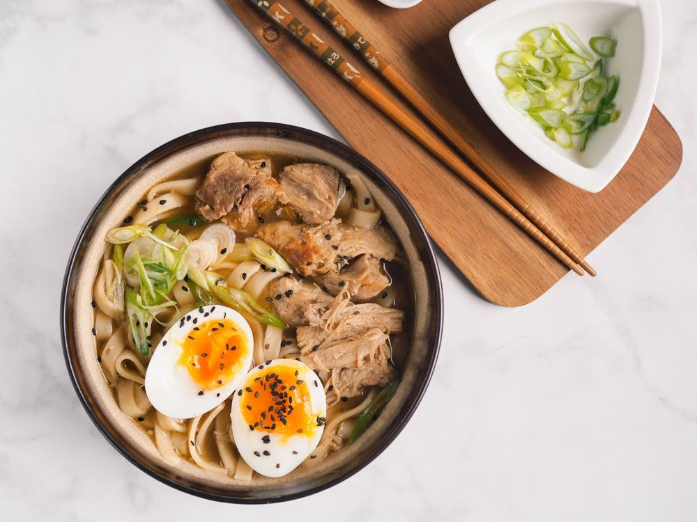 Recipe: Slow Cooked Pork Ramen #AD | French Foodie in Dublin