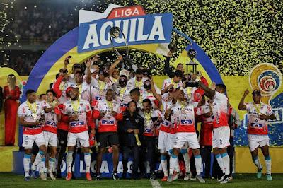 Junior campeón liga águila 2019 primer semestre