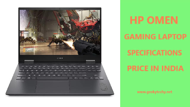HP Omen 15-en0001AX Gaming Laptop Specifications, Price in India