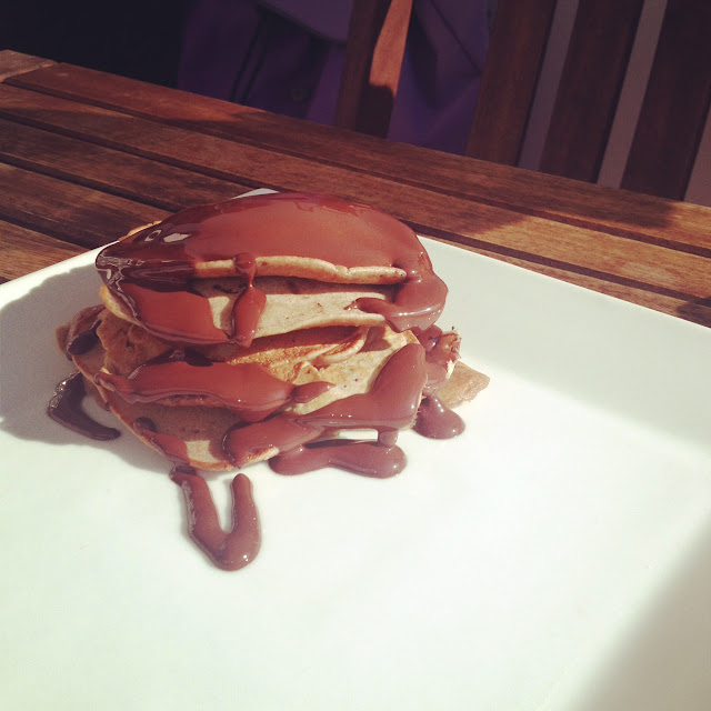 pancakes chocolate