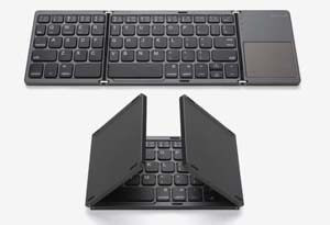 Jelly Comb Pocket Size Portable Mini BT Wireless Keyboard with Touchpad