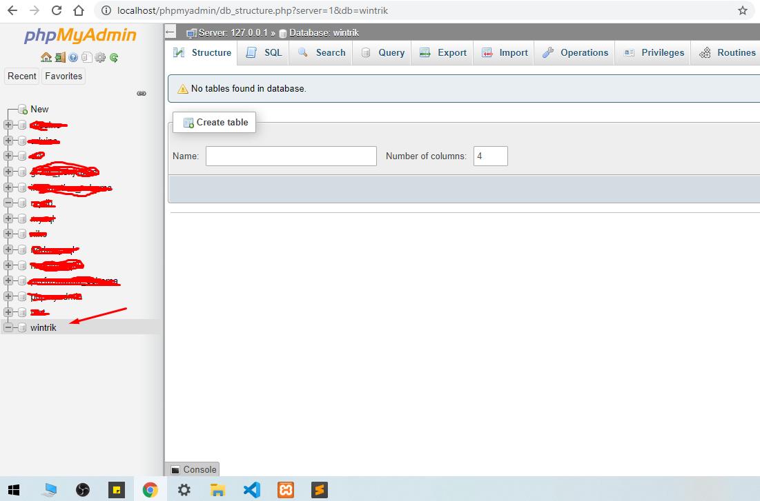 Node JS Dasar - Cara Buat Koneksi Database - browser