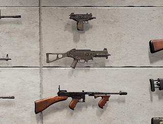 Пистолеты-пулеметы в Playerunknown's Battlegrounds