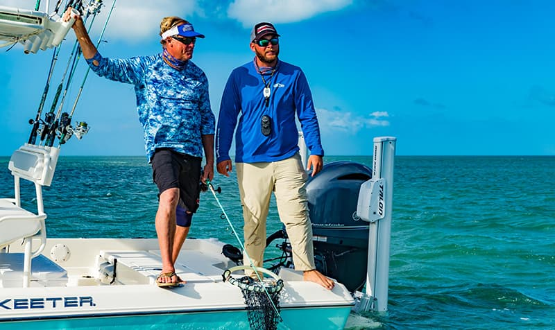 Capt Blair and Capt Kyle Kelso Shark Fishing