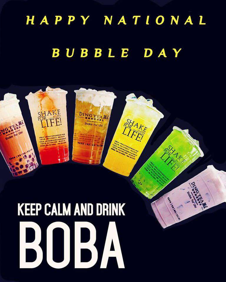 National Bubble Tea Day Wishes Unique Image