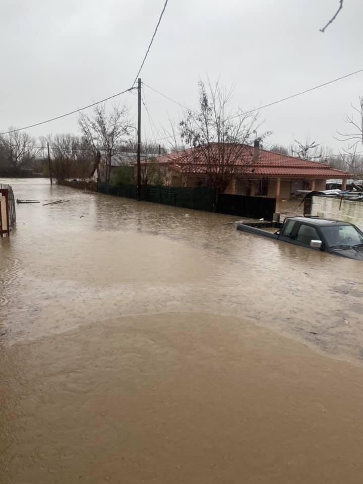 Ροδόπη: Χαμένες περιουσίες στις πλημμύρες – Συγκλονιστικές εικόνες