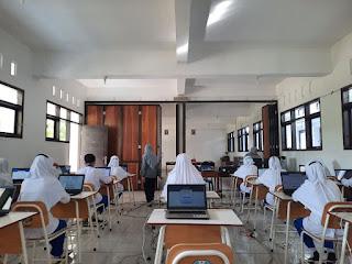Dokumentasi ANBK SMK Islam Kepanjen 2021