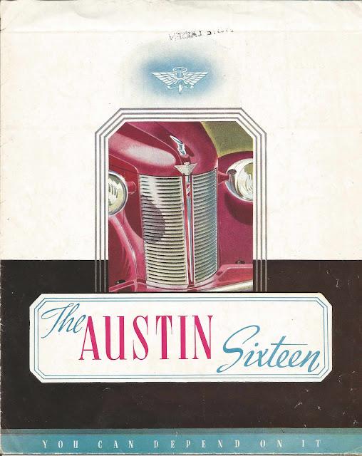 Austin Sixteen BS1 Brochure