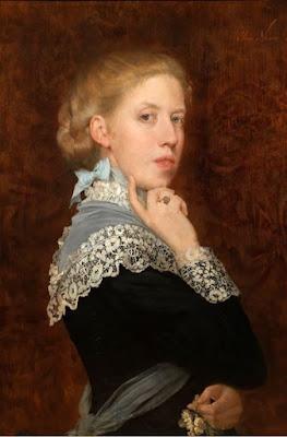 Autoportrait, Elise Ransonnet-Villez