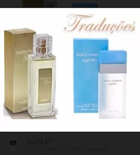Perfume da Hinode Traduçoes, cheiro do Dolce Gabana Light Blue 4b28c5a70c