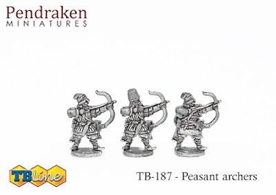 TB-187   Peasant archers (30)    £5.50