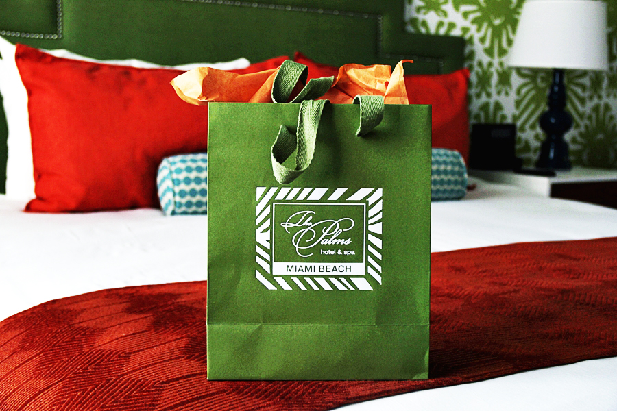 goodiebag travel hotel gift