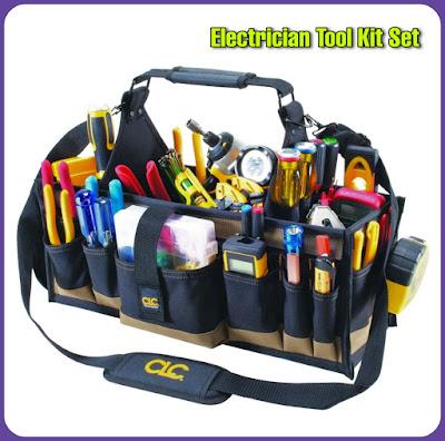 Electrician Tool Kit Set