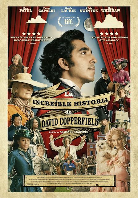 Cartel La increíble historia de David Copperfield