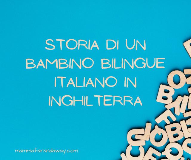storia di un bambino bilingue