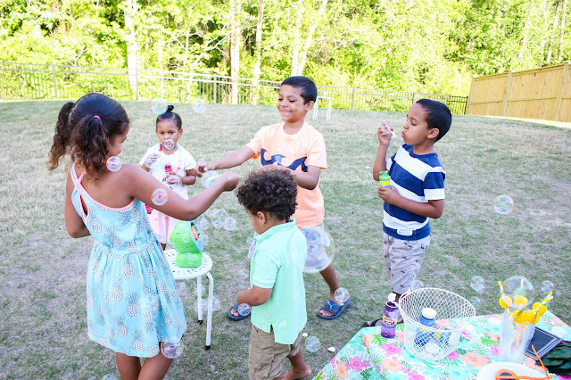 kid summer party activities