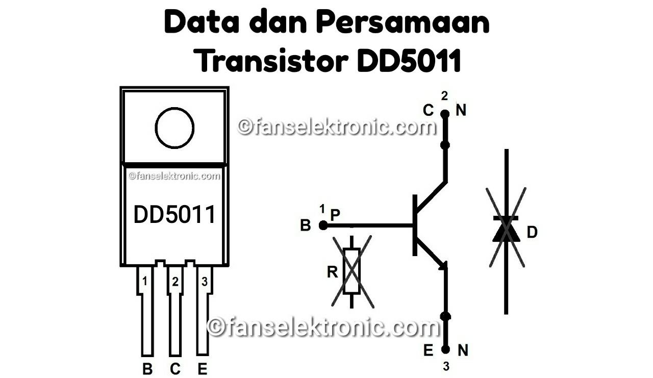 Persamaan Transistor DD5011