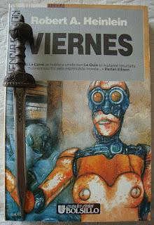 Portada del libro Viernes, de Robert A. Heinlein