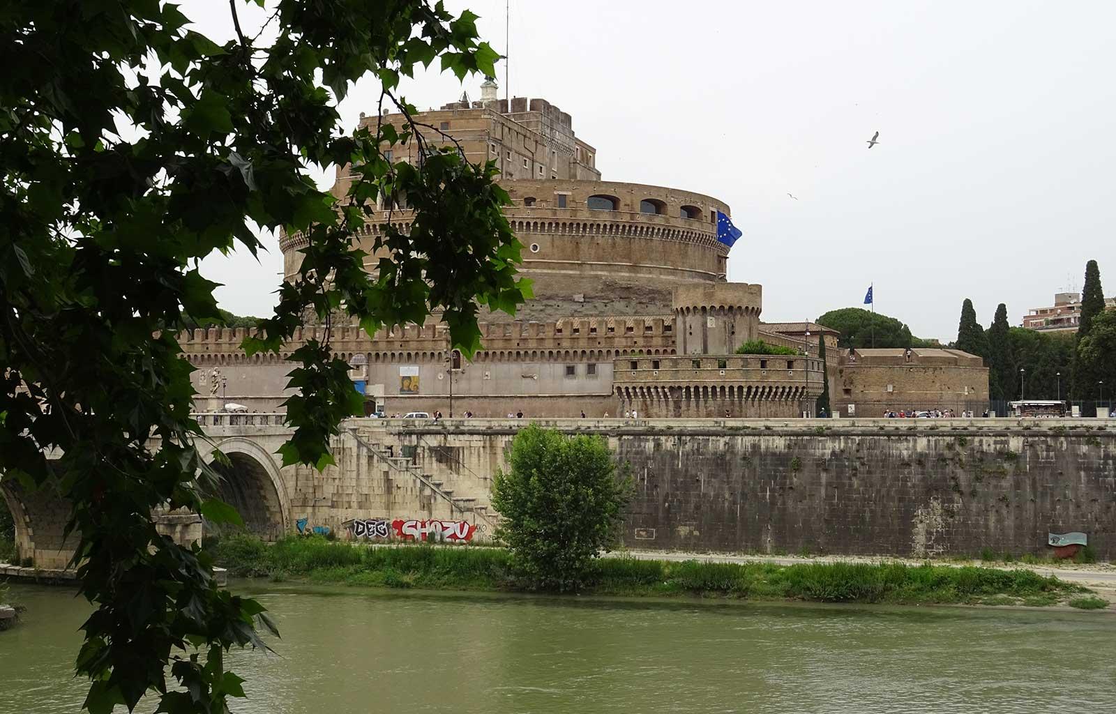Voyage Italie Rome Château Saint Ange