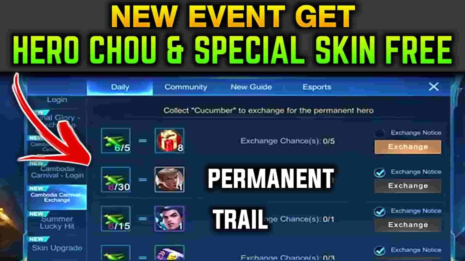 how to get free hero in mlbb,mlbb free hero event