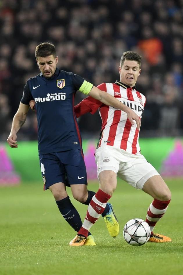 Atlético joga bem, mas empata fora de casa com o PSV