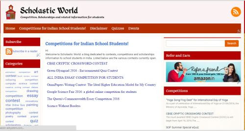 Hindi Youth Festival 2016 - Competitions for students of Palakkad