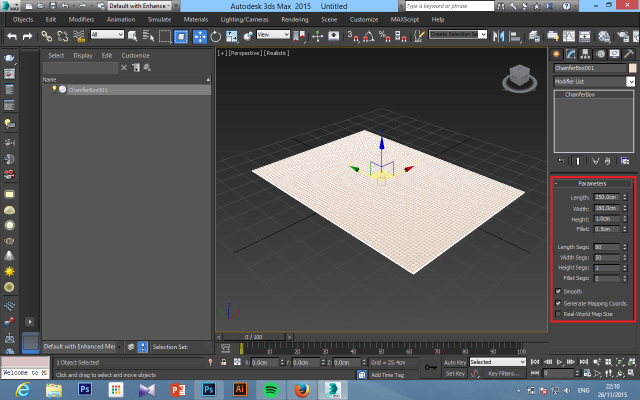 3Ds Max - How to create a carpet - JHong | Success