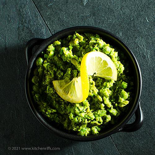 Mushy Peas with Mint and Lemon