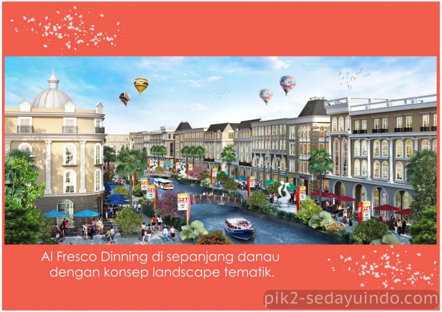 La Riveira, Rukan PIK 2 Sedayu Indo City Terbaru