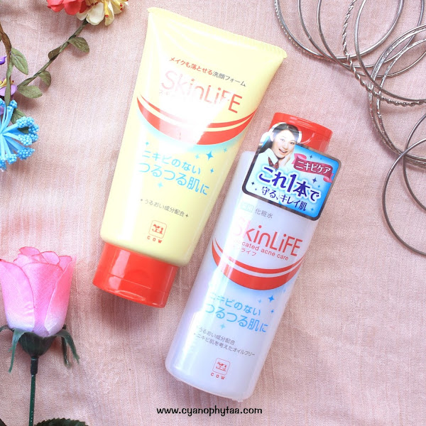 (Sponsored) Review Cowstyle SkinLiFE Cleansing Foam & Face Lotion