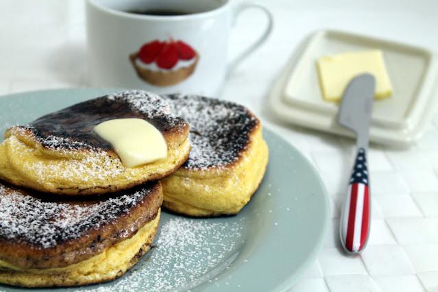 Tortitas japonsas o tortitas esponjosas