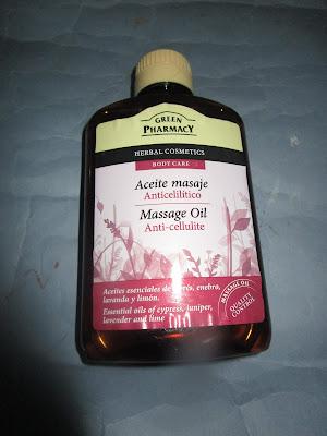 Imagen Aceite de masaje anticelulítico Green Pharmacy