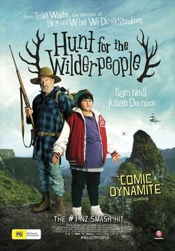 Hunt for the Wilderpeople 2016 WEB-DL 300MB English 480p