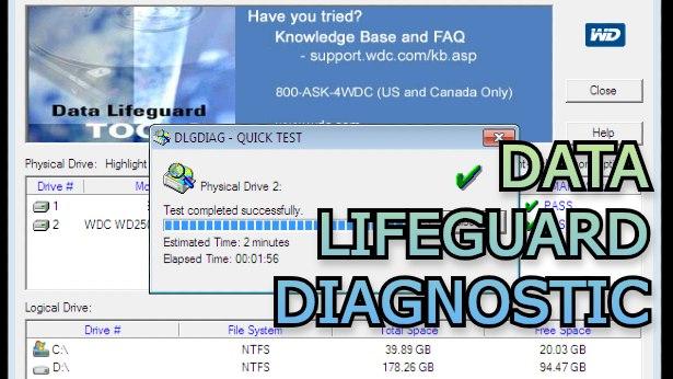 Data Lifeguard Diagnostic - Γρήγορος έλεγχος υγείας σκληρών δίσκων και SSD με το εργαλείο της Western Digital