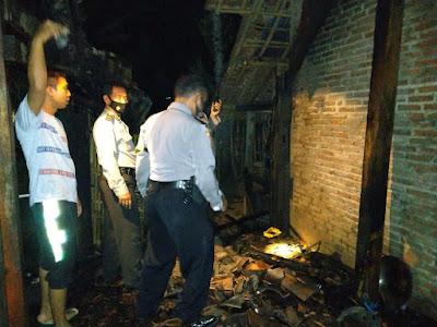 Rumah Warga Bukateja Terbakar Saat Malam Takbiran Idul Fitri