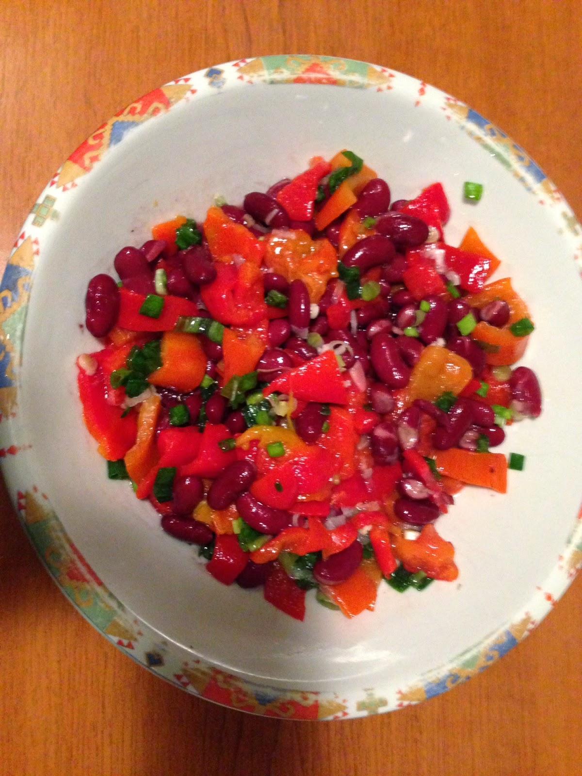 Бобена-салата-Beans-salad