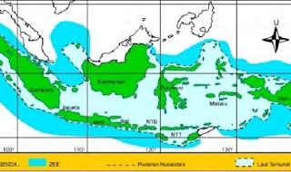 Pengertian Z.E.E,landas benua,zona bersebelahan,zona ekonomi eksklusif,panjang garis pantai,laut bebas,zona tambahan,cara menentukan,kelestarian laut,pengertian,