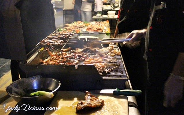 Barbecue Buffet Dinner at Bellevue Manila