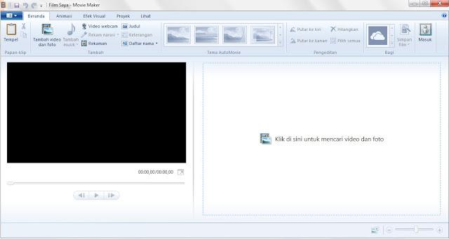 Cara Upload video Windows Movie maker ke Youtube