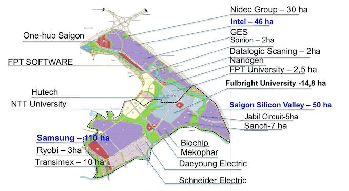 Thành phố Thủ Đức và Trung tâm sản xuất tự động SHTP