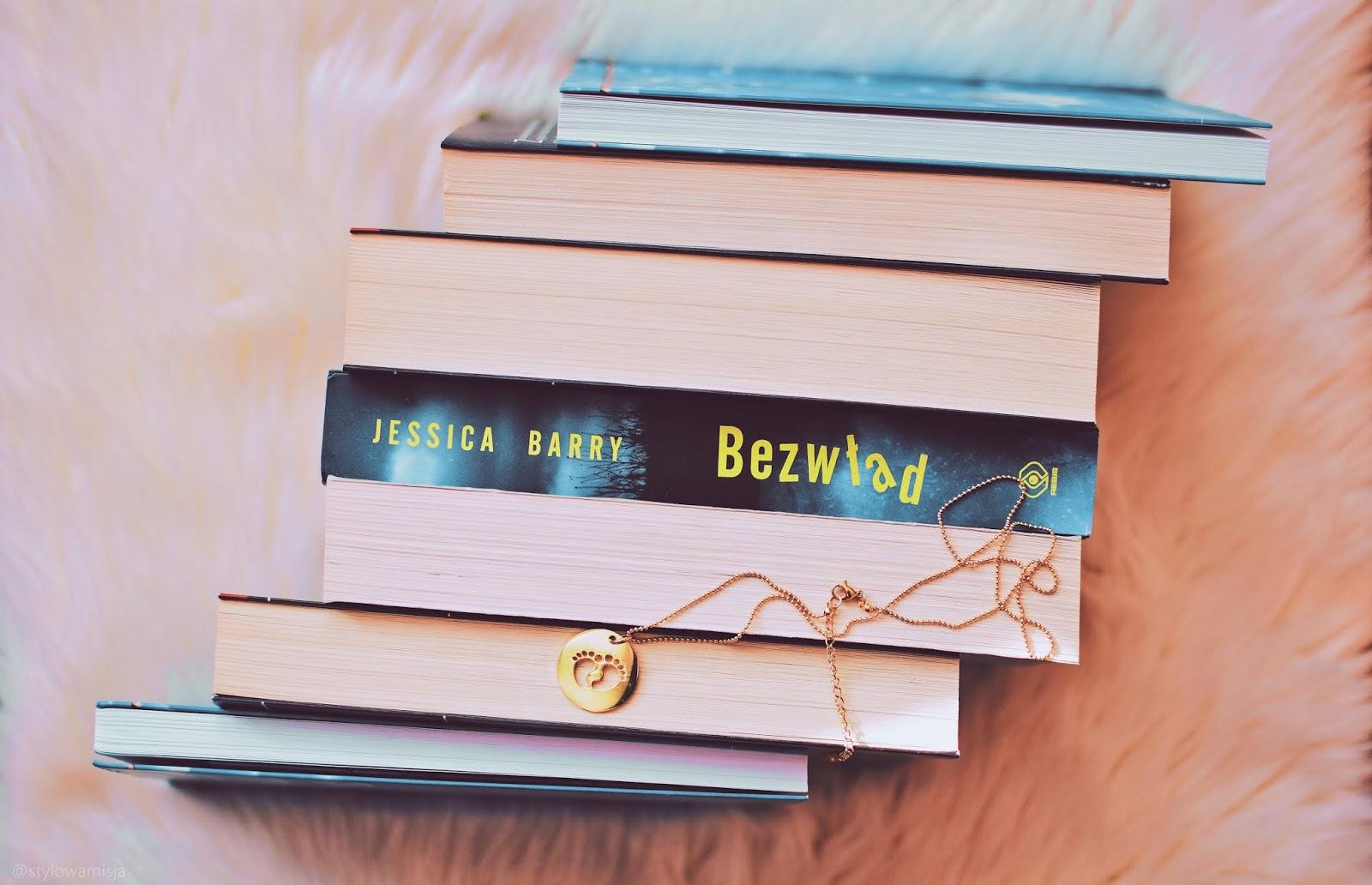 Bezwład, DomWydawniczyRebis, JessicaBarry, opowiadanie, recenzja, thriller,