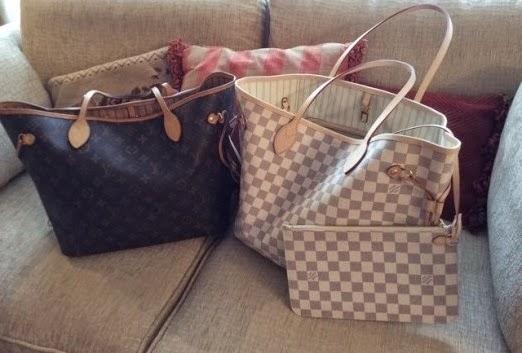 42cfdc3cc Fashion Assistance: Mi viejo y mi nuevo bolso Neverfull de Louis Vuitton