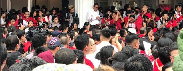 Pendukung Ahok: HTI Sudah Kita Bubarkan, Selanjutnya FPI Akan Kita Injak-injak!