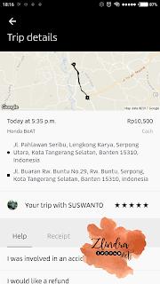 review uber ojek online