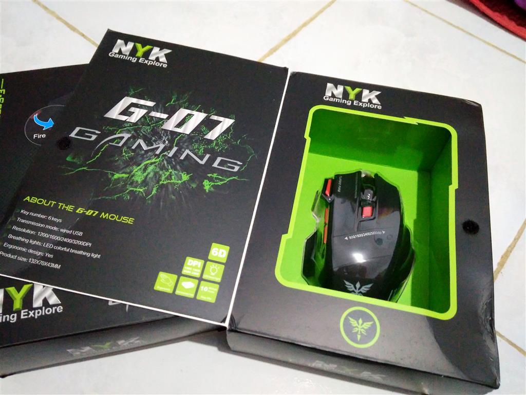 Nyk G02 Usb Gaming Mouse Daftar Harga Terkini Dan Terlengkap Pasar G01 G 01 Murah Source Colorfull Lights